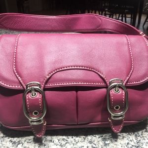 Almost New Cole Haan Pink Leather Satchel